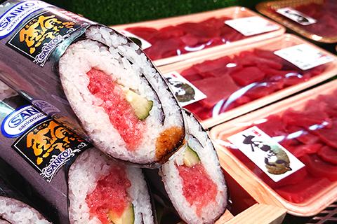 お寿司と刺身